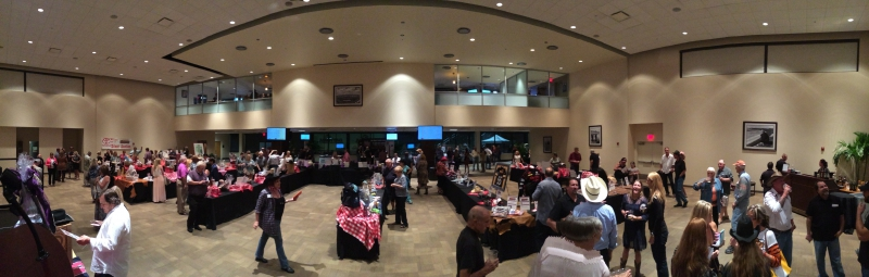 Charity Auction at the Hoedown Bash
