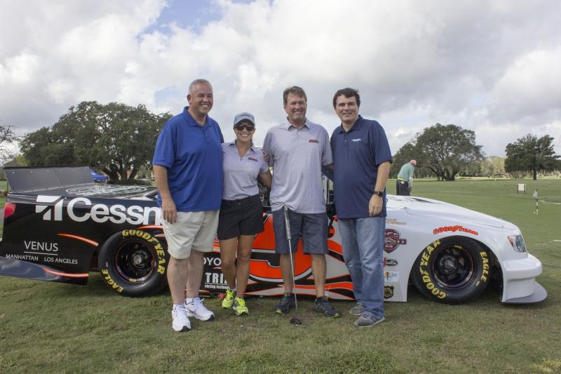 Mike & Angie Skinner with Mike Bagley & Pete Pistone