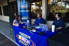 """The Morning Drive"" live broadcast on SiriusXM NASCAR Radio"