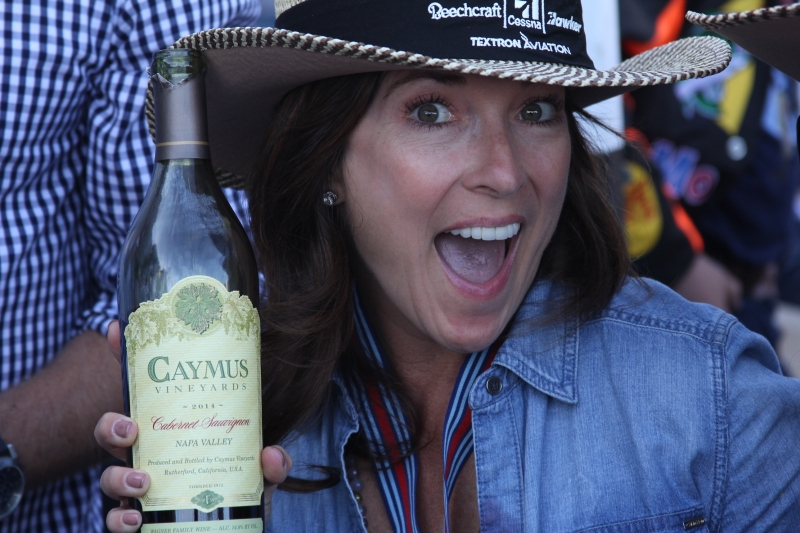 Celebrating with Caymus!