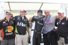 Mike Skinner & Bill Goldberg with some fans