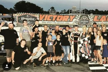 Carter NSS victory lane feature