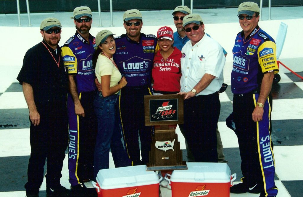 Gatorade 125 Victory Lane