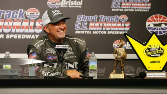 Mike Skinner wins the JEGS CRA Powered by JEGS ALL-STARS TOUR at the Short Track U.S. Nationals at Bristol Motor Speedway on June 1, 2019.